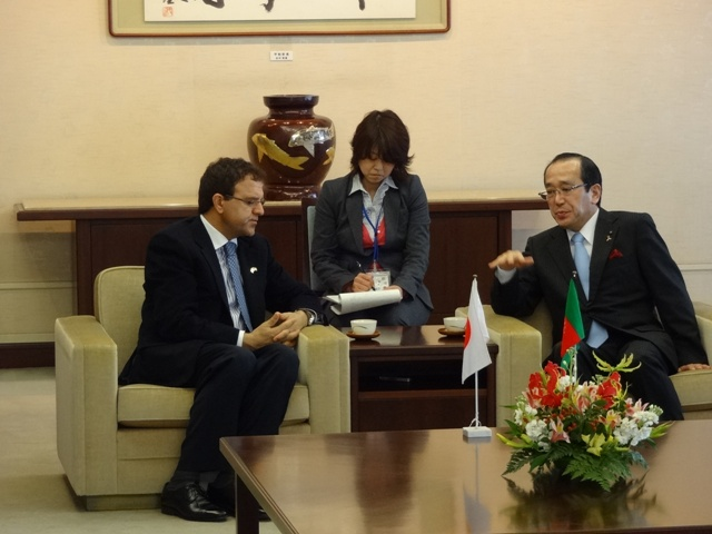Minister Zakhilwal and Mayor Matsui