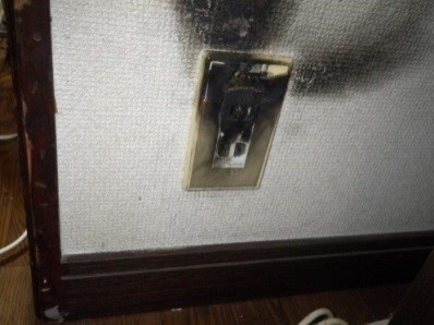 Photo of a Electrical fires caused by faulty wiring